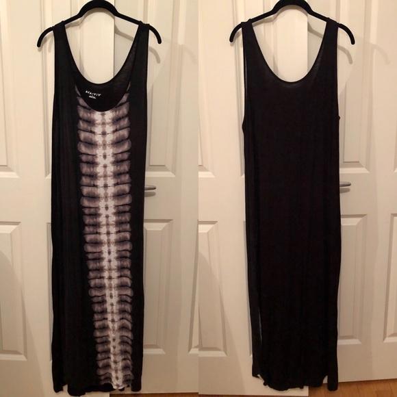 Ava & Viv Target Plus Size tie dye skeleton maxi